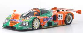 Mazda  - 787 orange/green - 1:12 - Kyosho - KSR08665A - kyoKSR8665A | The Diecast Company