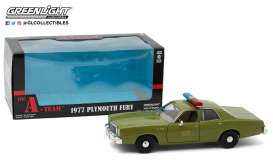 Plymouth  - Fury 1977  - 1:24 - GreenLight - 84103 - gl84103 | The Diecast Company