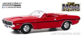 Dodge  - Challenger R/T Convertible 1970 red - 1:18 - GreenLight - 13565 - gl13565 | The Diecast Company