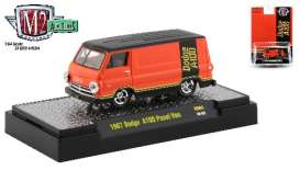 Dodge  - 1967 orange - 1:64 - M2 Machines - 31500HS04 - M2-31500HS04 | The Diecast Company