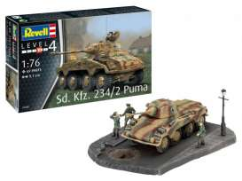 Military Vehicles  - 1:76 - Revell - Germany - 03288 - revell03288 | The Diecast Company