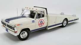Ford  - F-350 Ramp Truck 1970 black - 1:18 - Acme Diecast - 1801404 - acme1801404 | The Diecast Company