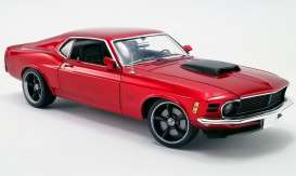 Ford  - Boss 429 Mustang 1970 red - 1:18 - Acme Diecast - 1801836 - acme1801836 | The Diecast Company