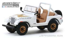 Jeep Mustang - CJ-7 1979 white - 1:43 - GreenLight - 86572 - gl86572 | The Diecast Company