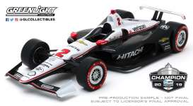 Chevrolet  - 2019 black/white - 1:18 - GreenLight - 11074 - gl11074 | The Diecast Company