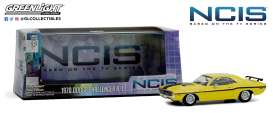 Dodge Ram - Challenger 1970 yellow - 1:43 - GreenLight - 86579 - gl86579 | The Diecast Company