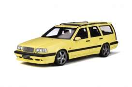 Volvo  - 850 T5-R 1995 cream yellow - 1:18 - OttOmobile Miniatures - ot310 - otto310 | The Diecast Company