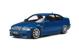 BMW  - E46 M3 2000 blue - 1:18 - OttOmobile Miniatures - ot790 - otto790 | The Diecast Company