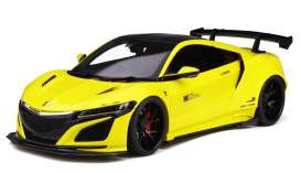 Honda  - NSX yellow/black - 1:18 - GT Spirit - GTS034KJ-B - GTS034y | The Diecast Company