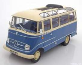 Mercedes Benz  - 1960 blue/beige - 1:18 - Norev - 183411 - nor183411 | The Diecast Company