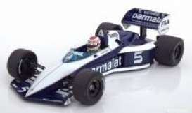 Brabham BMW - BT52 1983 blue/white - 1:18 - Minichamps - 183830105 - mc183830105 | The Diecast Company