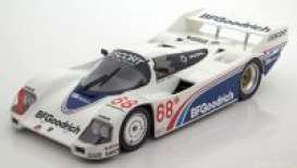 Porsche  - 962C 1985 white/blue - 1:18 - Norev - 187401 - nor187401 | The Diecast Company