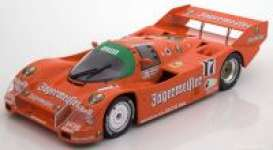 Porsche  - 962C 1986 orange - 1:18 - Norev - 187402 - nor187402 | The Diecast Company