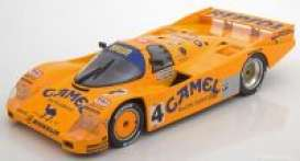 Porsche  - 962C 1988 yellow - 1:18 - Norev - 187403 - nor187403 | The Diecast Company