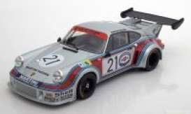 Porsche  - 1974 silver/red/blue - 1:18 - Norev - 187425 - nor187425 | The Diecast Company