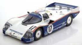 Porsche  - 962C 1987 white/blue - 1:18 - Norev - 187404 - nor187404 | The Diecast Company
