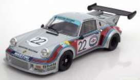 Porsche  - 1974 silver/red/blue - 1:18 - Norev - 187424 - nor187424 | The Diecast Company