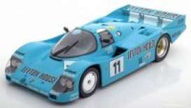 Porsche  - 1987 blue - 1:18 - Norev - 187405 - nor187405 | The Diecast Company