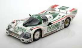 Porsche  - 1985 white/green - 1:18 - Norev - 187406 - nor187406 | The Diecast Company