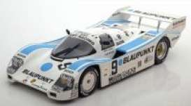 Porsche  - 1987 white/blue - 1:18 - Norev - 187407 - nor187407 | The Diecast Company