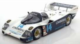 Porsche  - 1986 white/blue - 1:18 - Norev - 187408 - nor187408 | The Diecast Company