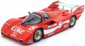 Porsche  - 1986 red - 1:18 - Norev - 187409 - nor187409 | The Diecast Company