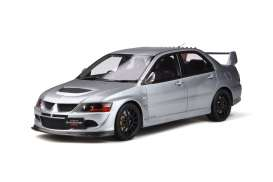 Mitsubishi  - Lancer Evo 2005 grey - 1:18 - OttOmobile Miniatures - ot862 - otto862 | The Diecast Company