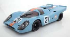 Porsche BMW - 917K 1970 blue/orange - 1:18 - Minichamps - 123706621 - mc123706621 | The Diecast Company