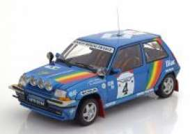 Renault  - 1990 blue - 1:18 - Norev - 185199 - nor185199 | The Diecast Company