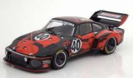 Porsche  - 1977 black/red - 1:18 - Norev - 187433 - nor187433 | The Diecast Company