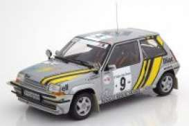 Renault  - 1989 silver/yellow - 1:18 - Norev - 185198 - nor185198 | The Diecast Company