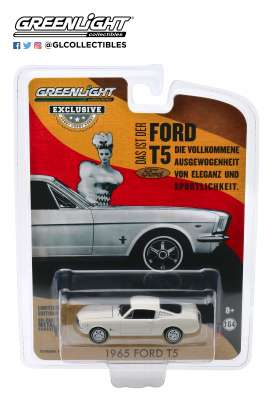 Ford  - T5 white - 1:64 - GreenLight - 30120 - gl30120 | The Diecast Company