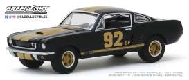 Shelby  - Mustang 1966 black/gold - 1:64 - GreenLight - 30123 - gl30123 | The Diecast Company