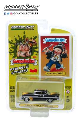 Chevrolet  - Bel Air 1955 black - 1:64 - GreenLight - 54030A - gl54030A | The Diecast Company