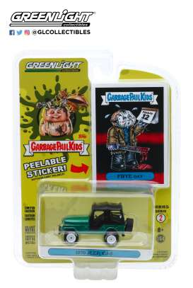 Jeep  - CJ-5 1970 green - 1:64 - GreenLight - 54030D - gl54030D | The Diecast Company