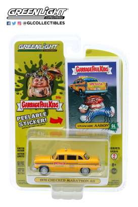 Checker  - Marathon 1970 yellow - 1:64 - GreenLight - 54030F - gl54030F | The Diecast Company