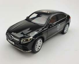 Mercedes Benz  - GLC coupe 2018 black - 1:18 - iScale - iscale18GLCbk | The Diecast Company