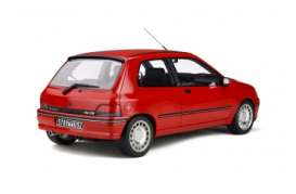 Renault  - Clio red - 1:12 - OttOmobile Miniatures - G045 - ottoG045 | The Diecast Company
