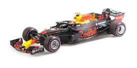 Red Bull Racing  Aston Martin - RB14 2018 purple-blue - 1:18 - Minichamps - 110181933 - mc110181933 | The Diecast Company