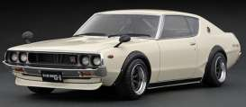 Nissan  - Skyline GT-R white - 1:18 - Ignition - IG1843 - IG1843 | The Diecast Company