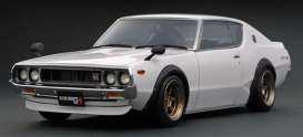 Nissan  - Skyline GT-R white - 1:18 - Ignition - IG1844 - IG1844 | The Diecast Company