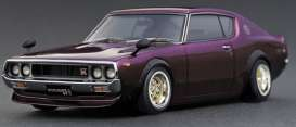 Nissan  - Skyline GT-R purple - 1:18 - Ignition - IG1846 - IG1846 | The Diecast Company