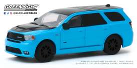 Dodge  - Durango 2018 blue - 1:64 - GreenLight - 30130 - gl30130 | The Diecast Company