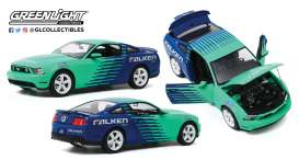 Ford  - Mustang GT 2010 blue/green - 1:18 - GreenLight - 13552 - gl13552 | The Diecast Company
