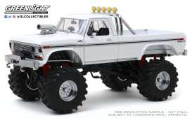 Ford  - F-250 Monster Truck 1979 white - 1:18 - GreenLight - 13556 - gl13556 | The Diecast Company