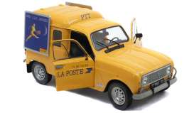 Renault  - 4 LF4 yellow - 1:18 - Solido - 1802203 - soli1802203 | The Diecast Company