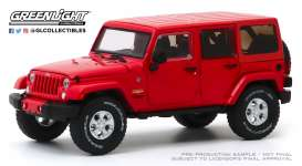 Jeep  - 2017 red - 1:43 - GreenLight - 86177 - gl86177 | The Diecast Company
