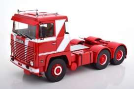 Scania  - LBT 141 1976 red/white - 1:18 - Road Kings - 180014 - rk180014 | The Diecast Company