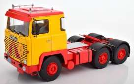 Scania  - LBT 141 1976 red/yellow - 1:18 - Road Kings - 180015 - rk180015 | The Diecast Company