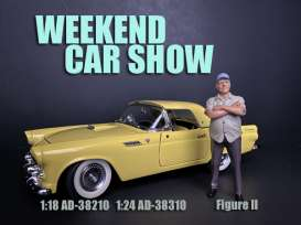 Figures  - Weekend Car Show 2019  - 1:24 - American Diorama - 38310 - AD38310 | The Diecast Company